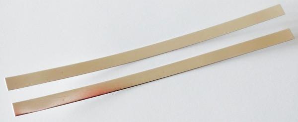 elettrodi-Argento-puro-999-lastrine 11 cm x 5 mm autoproduzione-Argento-Colloidale