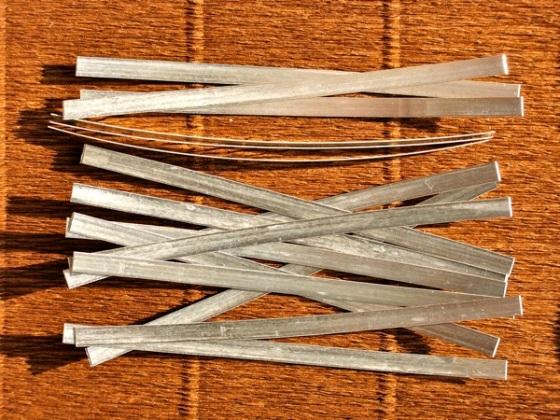 lastrine in Argento puro 11 cm x 5 mm per argento colloidale