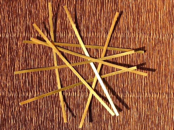 lastrine in oro puro 10cm x 2,3mm per oro colloidale